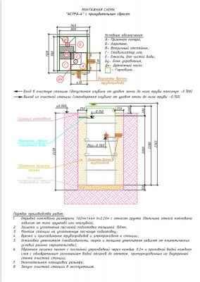 монтажная схема астра 4 пр