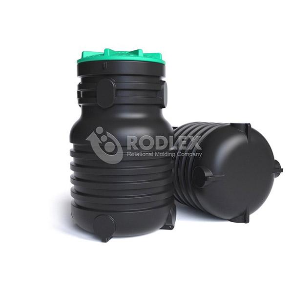 Септик вертикальный для канализации малого объема 900 литров.